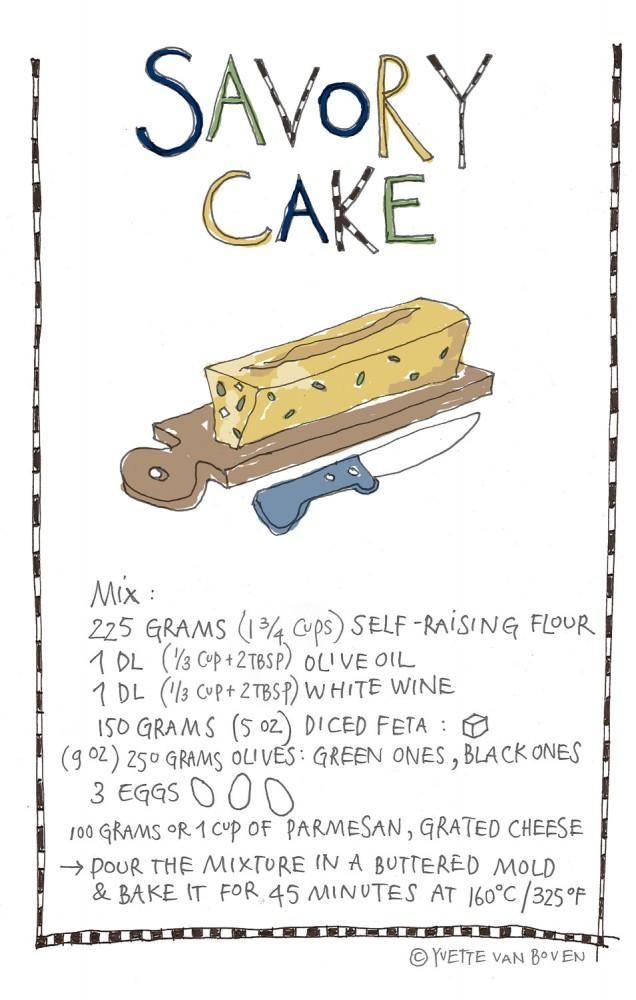 Savory-Cake